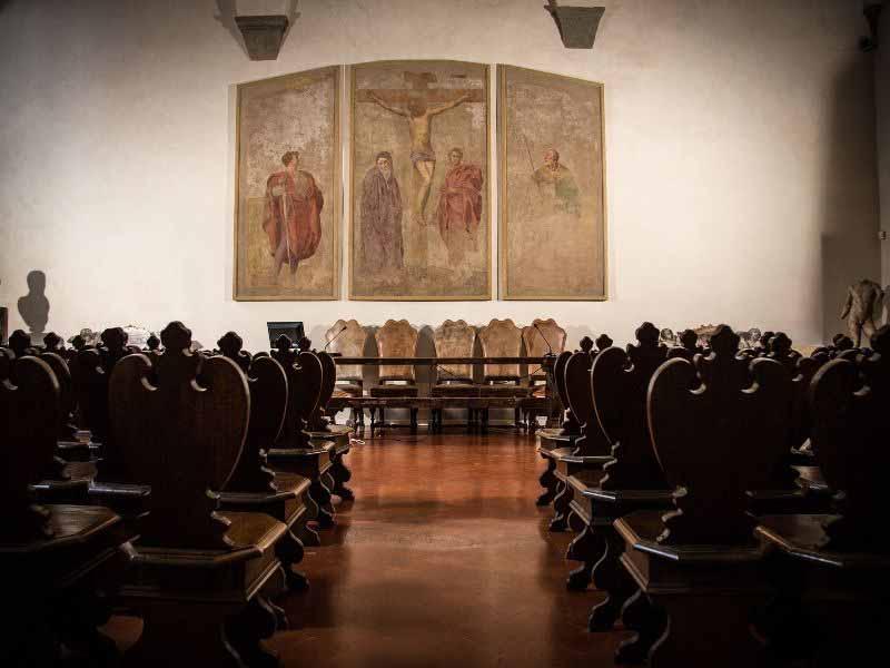 App conferenze Cosimo I Medici Accademia Arti disegno Firenze