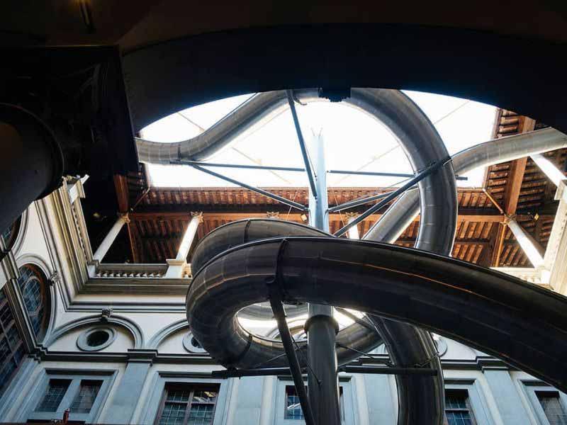 Palazzo Strozzi scivolo - The Florence Experiment