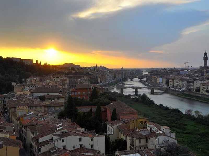 Il panorama dalla Torre di San Niccolò
