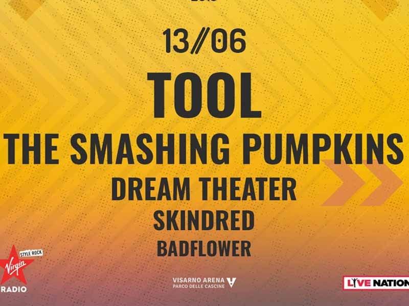 Dream Theater, Skindred e Badflower a Firenze Rocks 2019