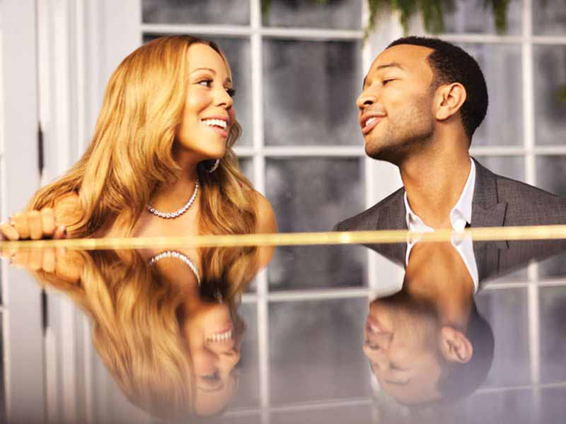 Mariah Carey e John Legend Firenze Florence4ever