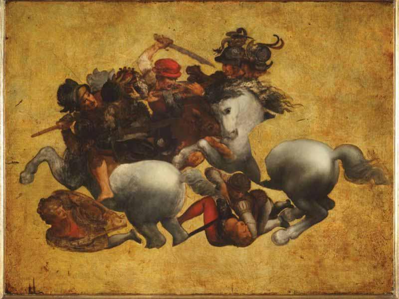 Leonardo Poppi mostra tavola Doria