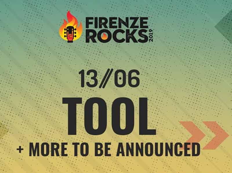 Tool Firenze Rocks