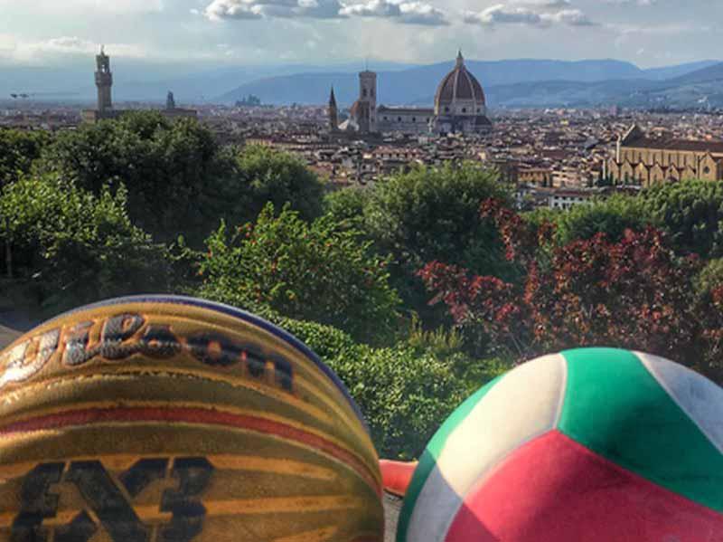 All Star Game Firenze piazzale Michelangelo