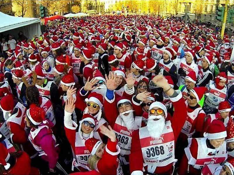 Babbo Running 2018 Firenze - corsa Babbo Natale