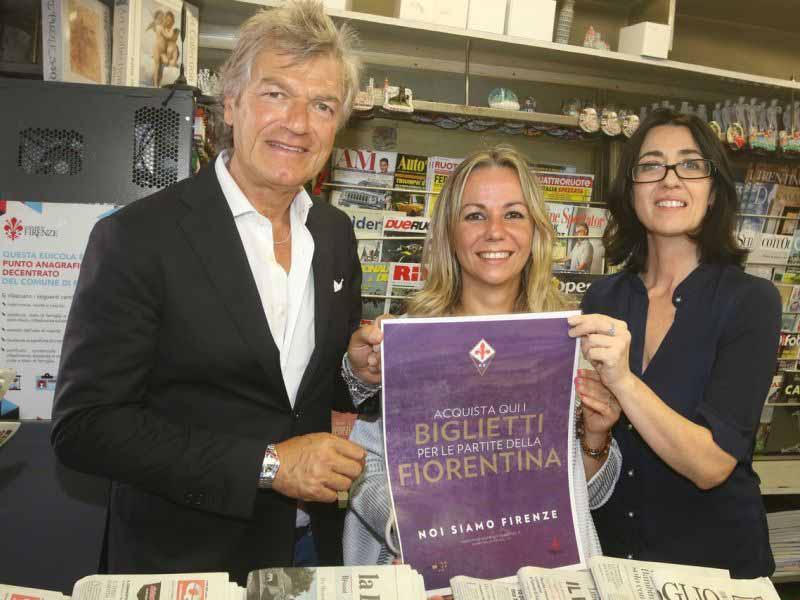 Dove comprare biglietti Fiorentina: in edicola