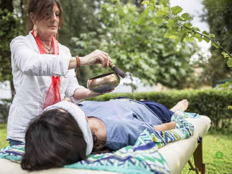 Oriental Garden Giardino Torrigiani yoga bagno di gong