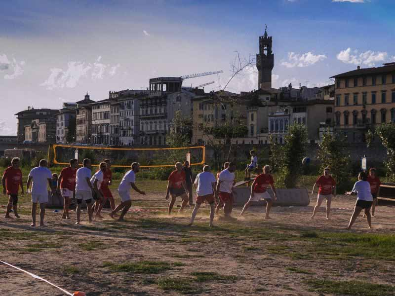 Torneo rugby spiaggia Arno