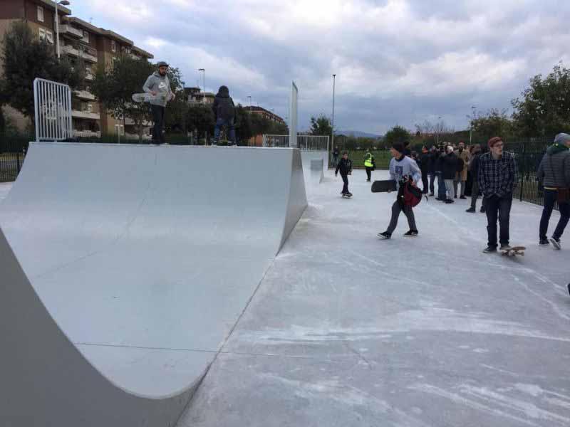 Skatepark Firenze Isolotto cavallaccio