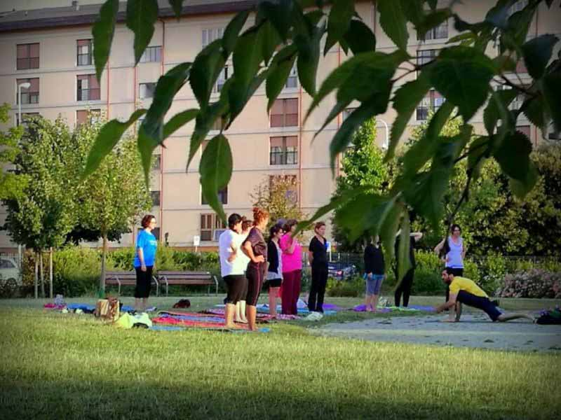 Yoga Biblioteca Isolotto 2017