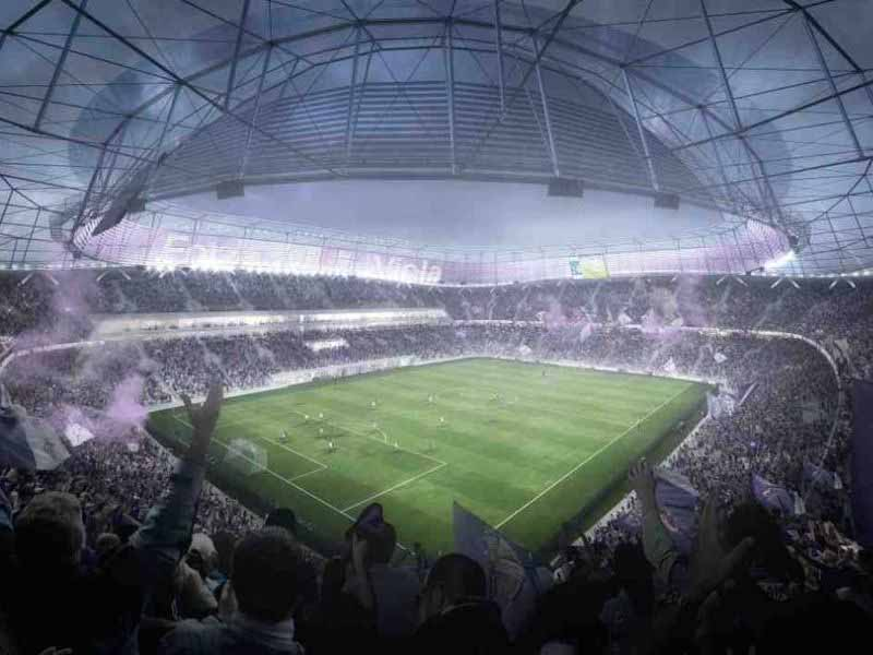 Stadio Fiorentina nuovo mercafir progetto tempi quando pronto