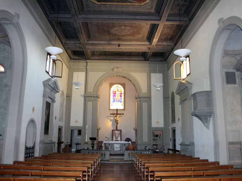 Castello, Firenze - Chiesa di San Michele interno