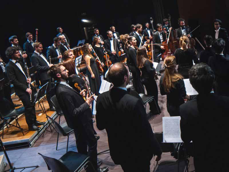 La Filharmonie orchestra Campi Bisenzio Teatrodante Carlo Monni