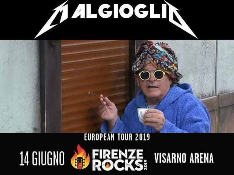 Firenze Rocks 2019 ospiti bufale fake