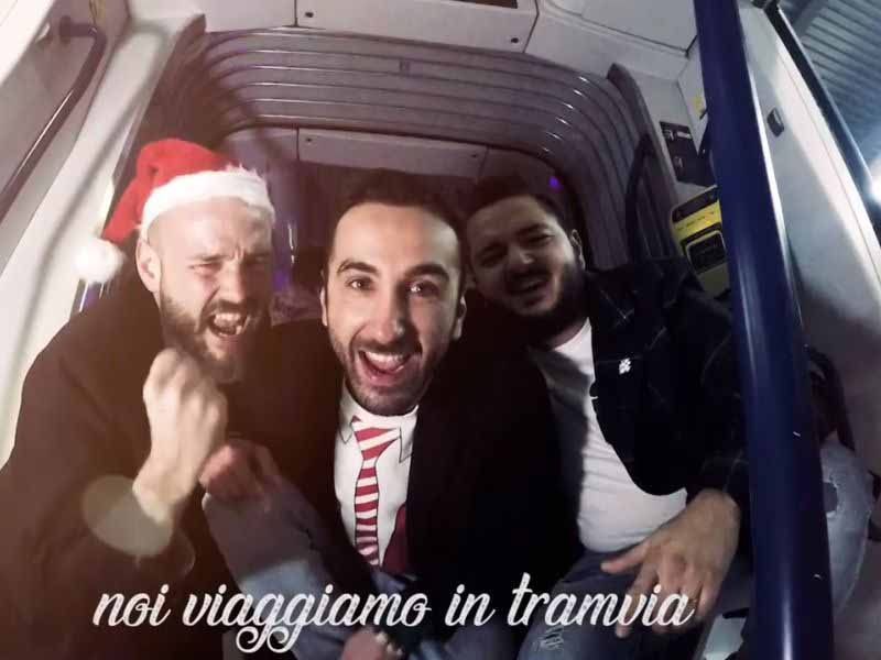 Natale Tramvia canzone video Youtube