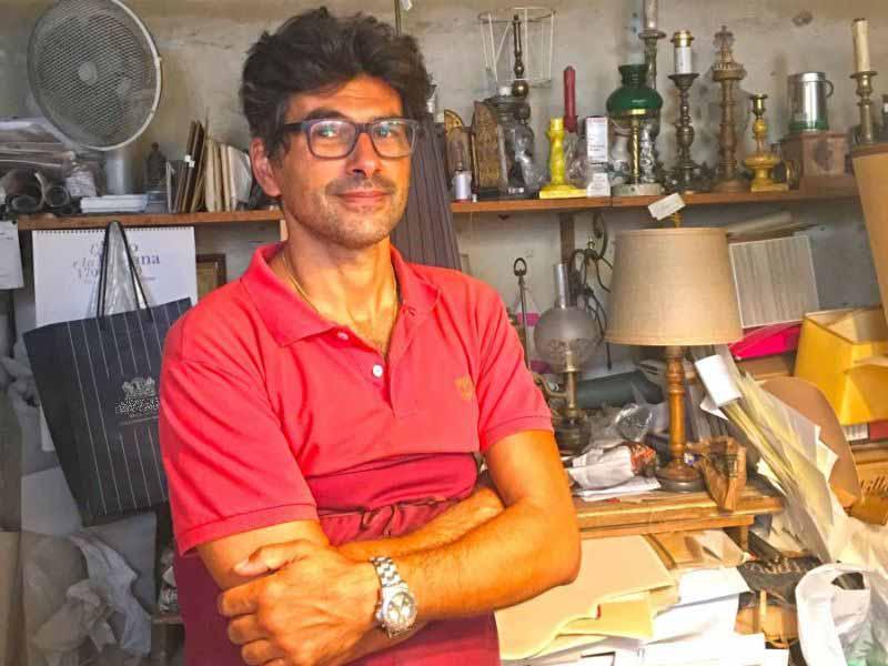 produzione Paralumi artigianali Firenze Becucci