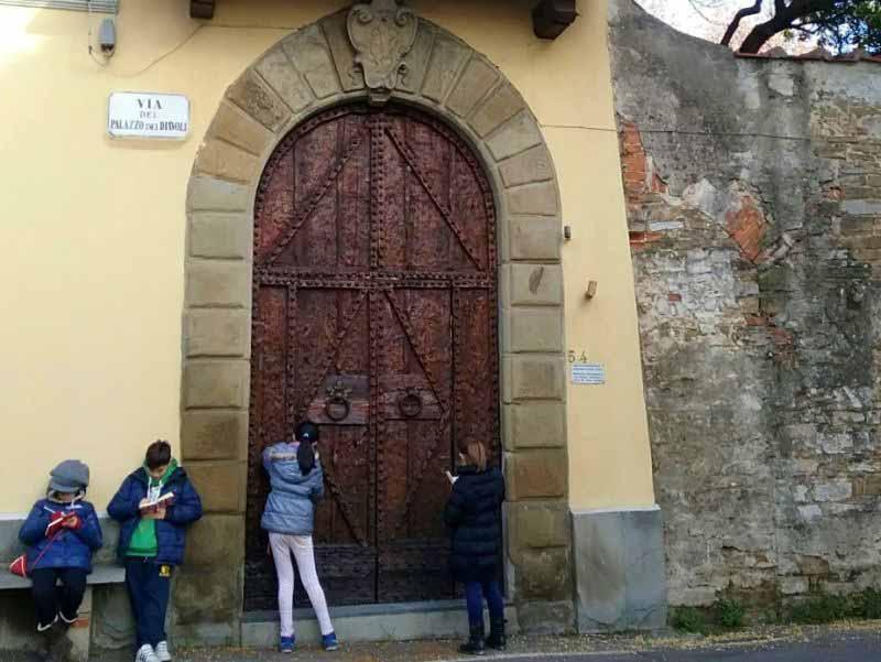 Via Palazzo dei Diavoli Isolotto Firenze alunni scuola Montagnola