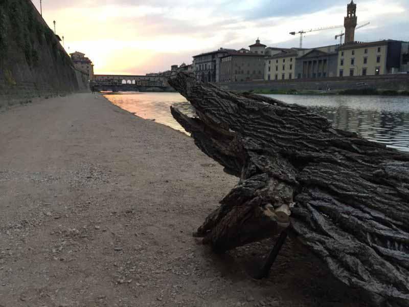 Camminamento passeggiata Arno Sedicente Moradi