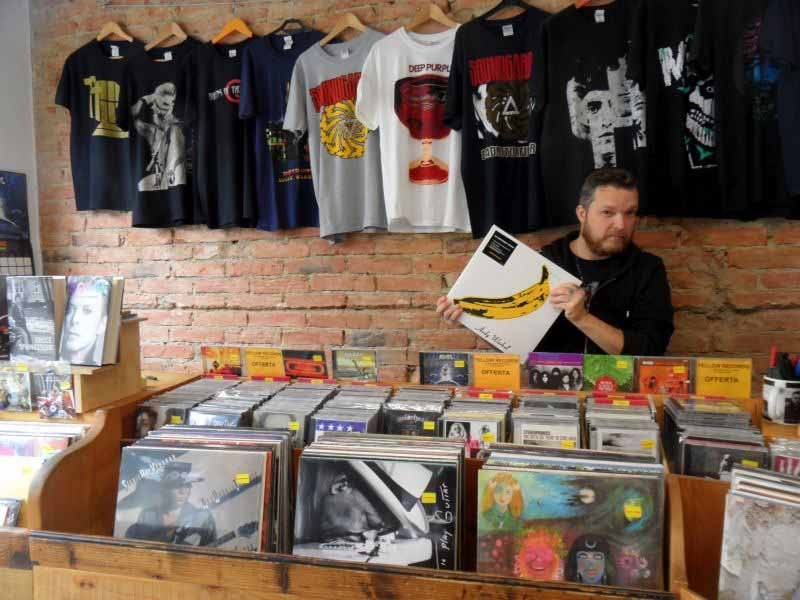 Negozio dischi vinili Firenze - Yellow Record