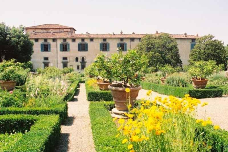 Parco E Giardino Della Villa Medicea Firenze