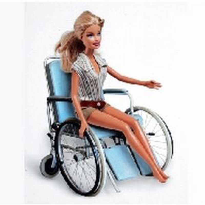 barbie in sedia a rotelle campagna shock a fucecchio