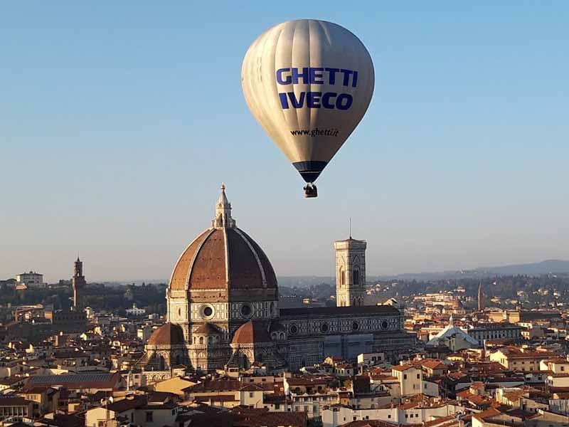Festival mongolfiere Firenze 2018