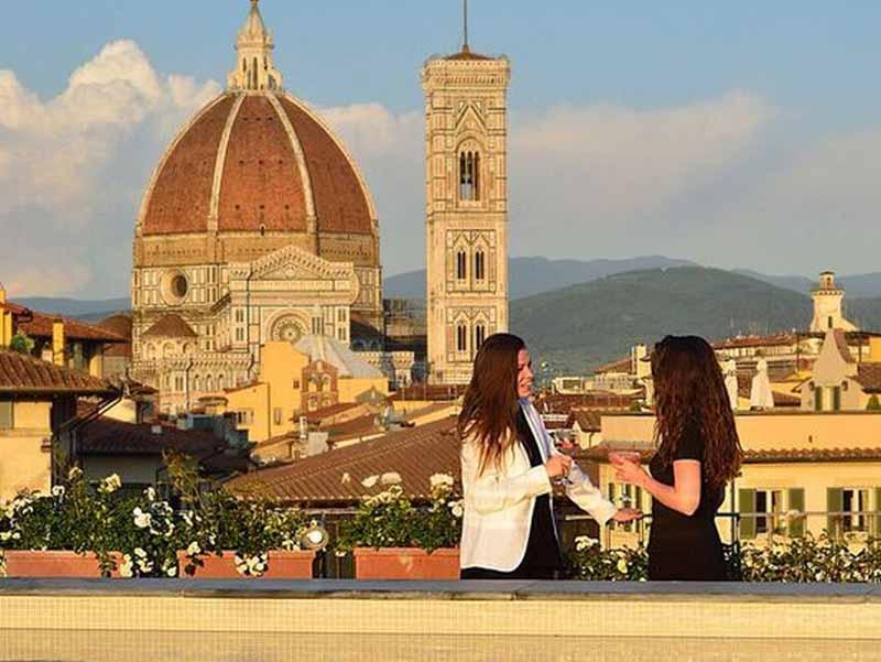 Aperitivo con vista su Firenze - ilReporter.it