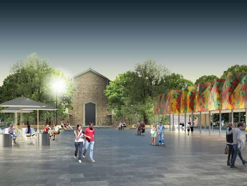 Piazza dell'Isolotto concorso di progettazione