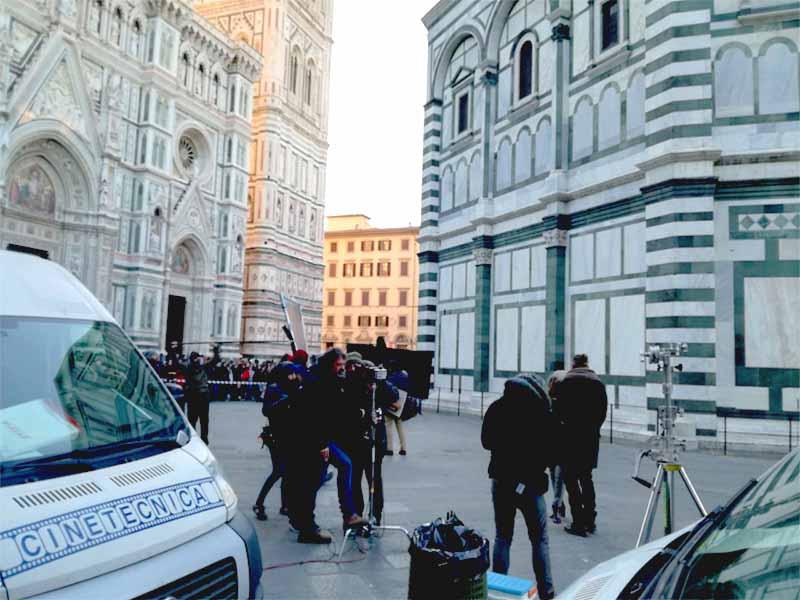 La Casa di carta, in corso le riprese a Firenze. Le immagini dal set