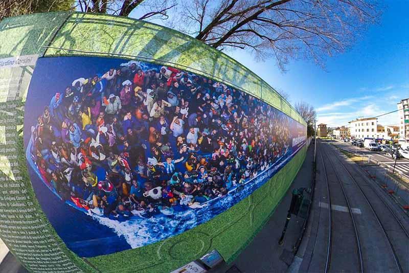 ''Mediterraneum'', al Mandela Forum la mostra fotografica di Massimo Sestini