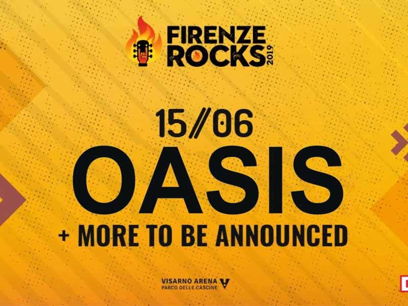 Oasis a Firenze Rocks? Compare l'annuncio, ma è una fake news