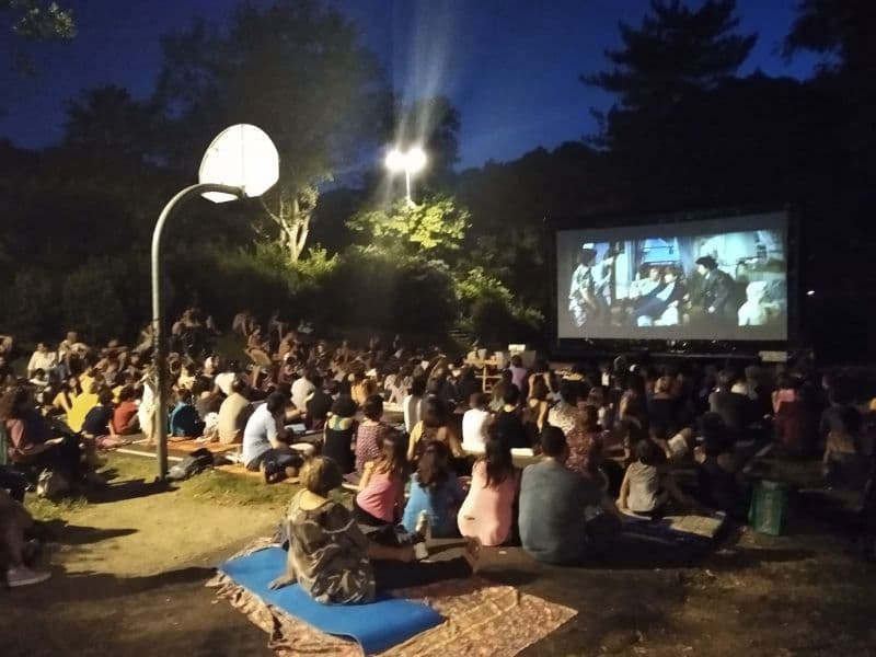 Cinema aperto Montagnola estate