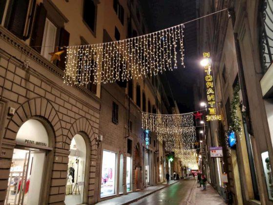 Vigna Nuova luci Natale