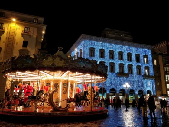 Natale piazza della Repubblica