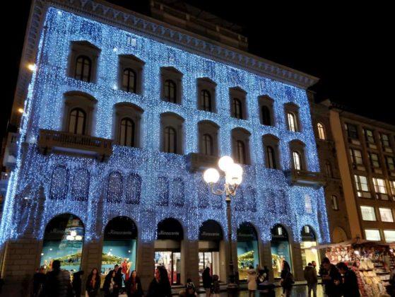 Rinascente Firenze Natale luci