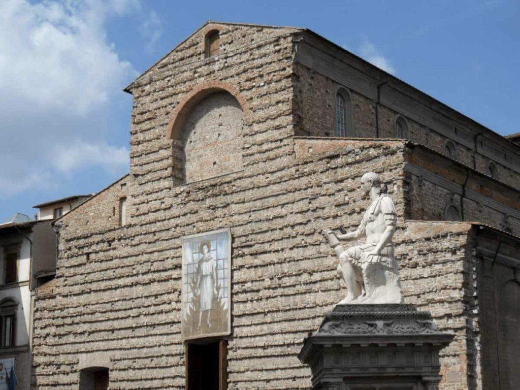 Basilica San lorenzo piazza Firenze festa cocomerata 10 agosto 2019