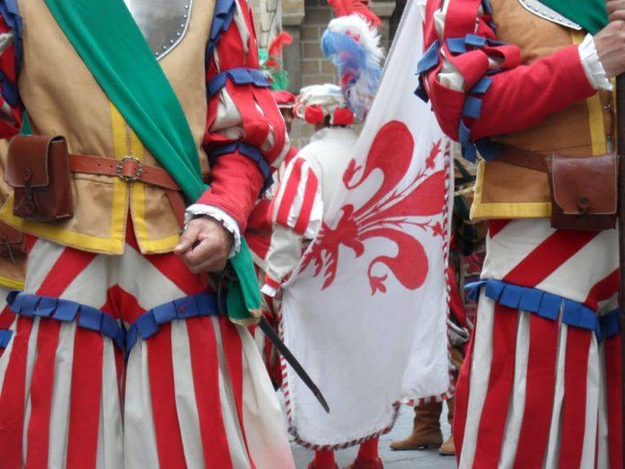 Corteo storico Firenze festa san Lorenzo 10 agosto