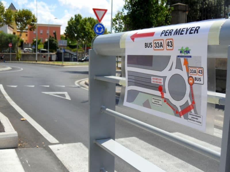 Linea bus Ataf Meyer 33 - cambiamenti percorsi tramvia T1