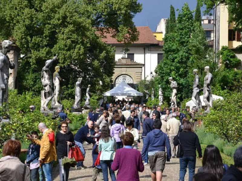 Artigianato e Palazzo 2019 giardino Palazzo Corsini Firenze