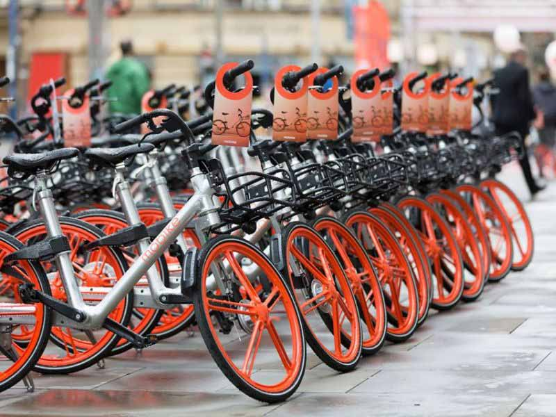 Mobike Bike Sharing a Firenze. Come funziona e quanto costa