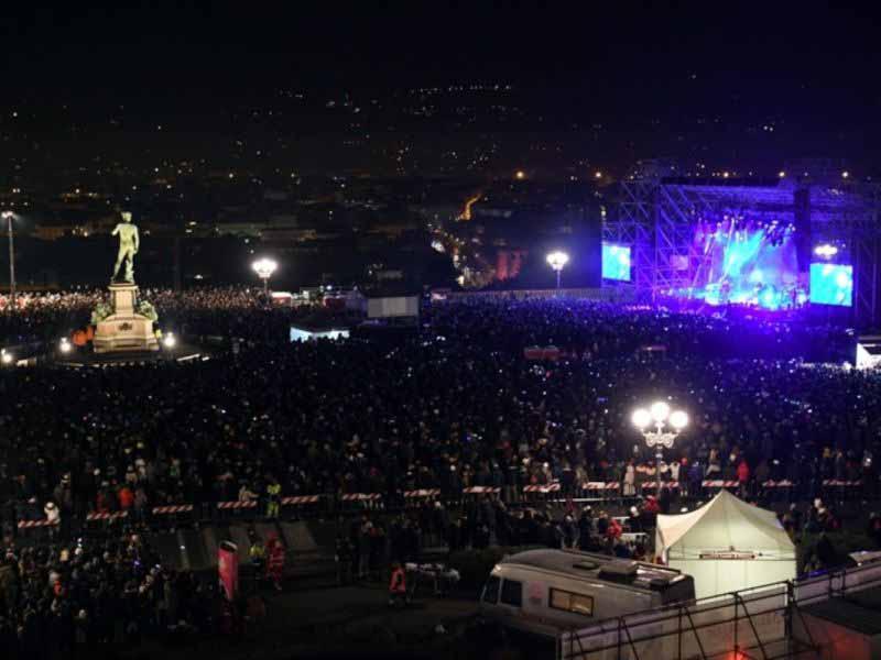 Capodanno 2019 Firenze concerti piazze piazzale Michelangelo