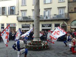 Fiorita San Zanobi Firenze corteo festa