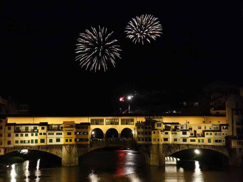 Fuochi di San Giovanni Firenze 24 giugno
