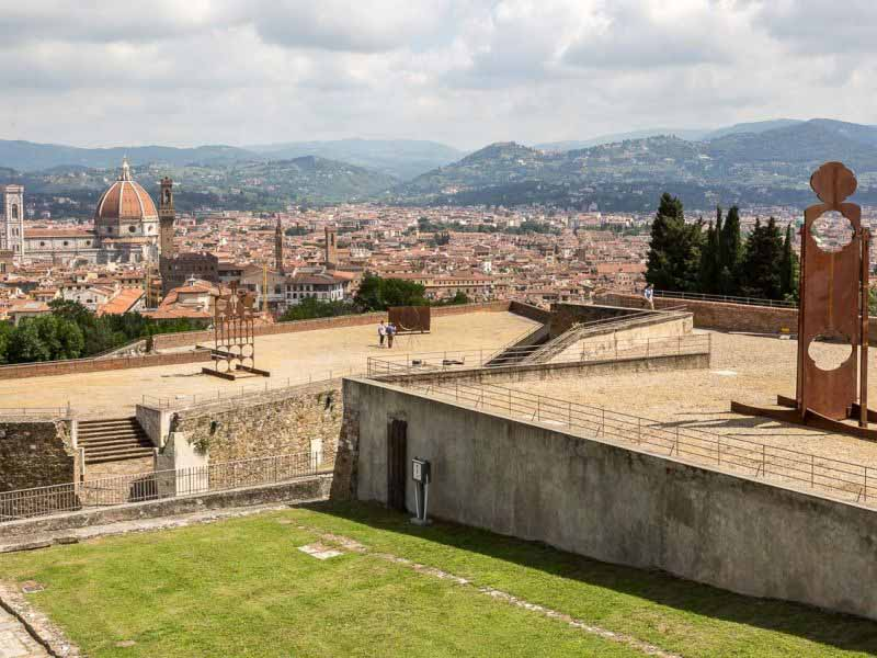 Forte Belvedere: in Florence the Mattiacci exhibition