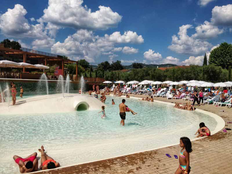 Estate Firenze caldo - piscine Firenze Camping