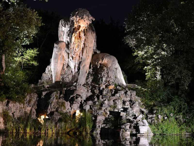 Luoghi freschi Firenze - parco di Villa Demidoff, parco mediceo di Pratolino