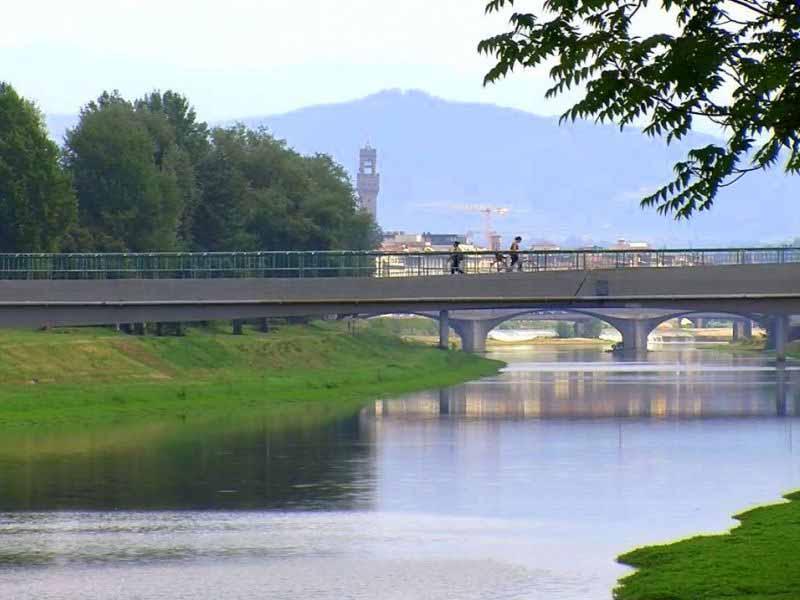 Sicurezza ponti Firenze - passerella dell'Isolotto