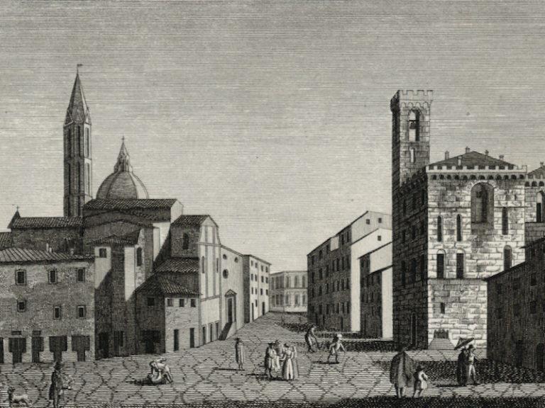 Un santo chiamato Firenze (piazza San Firenze)