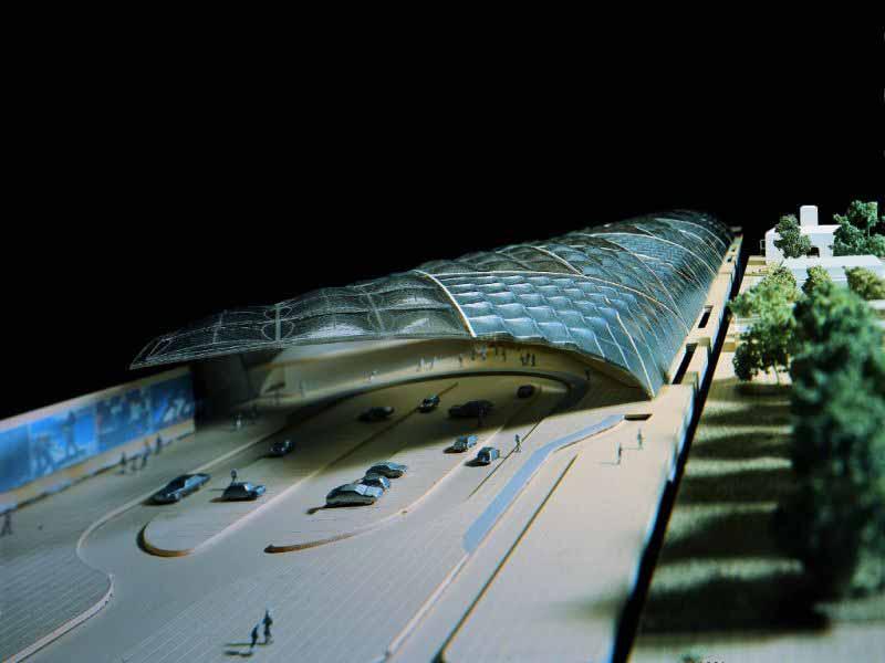 Stazione Foster sottoattraversamento Tav