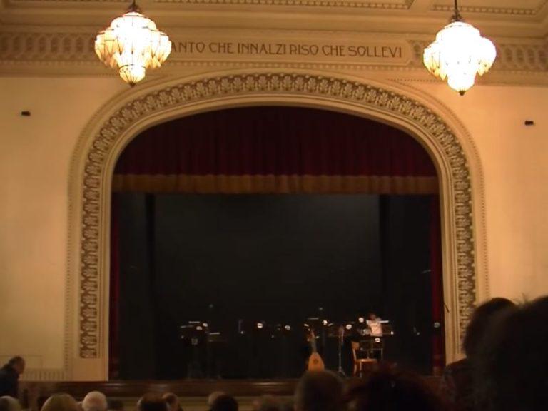 Teatro 13, il palco decò di Firenze